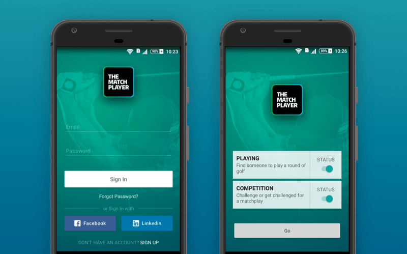 app for golf players Marchplayer