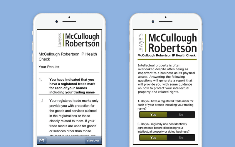Law firm software: McCullough Robertson