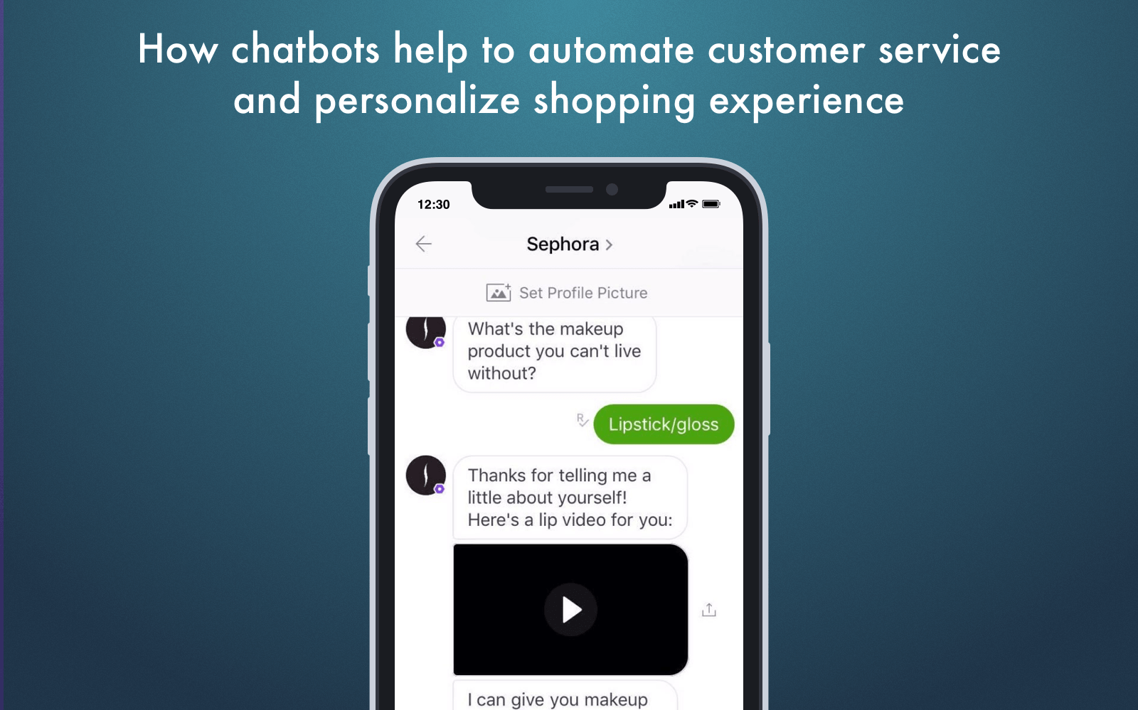 Mobile commerce trends 2018: chatbots