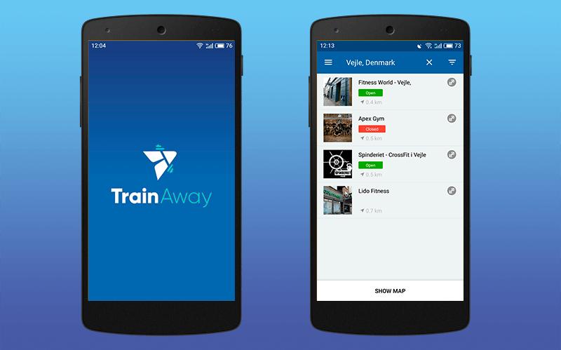 TrainAway gym app