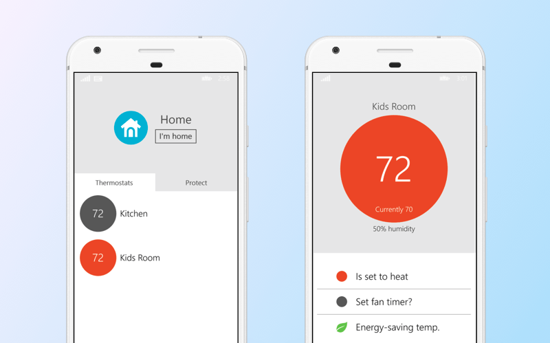 Control your home weather with the Nest