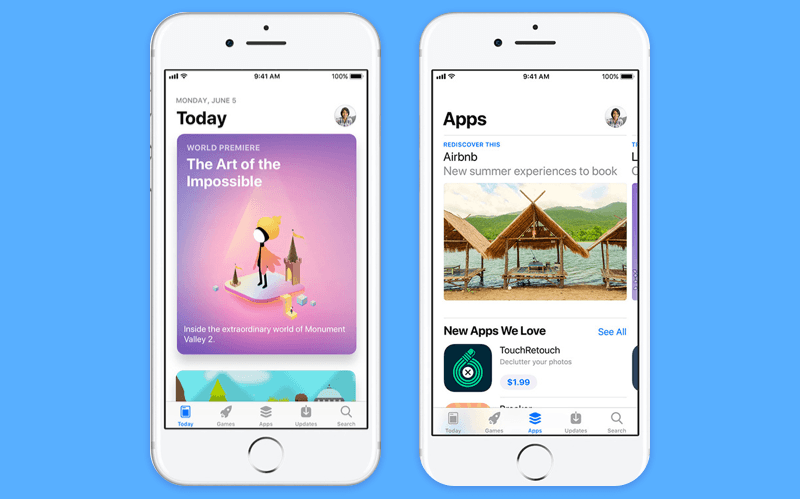 How does new Apple App Store look like?