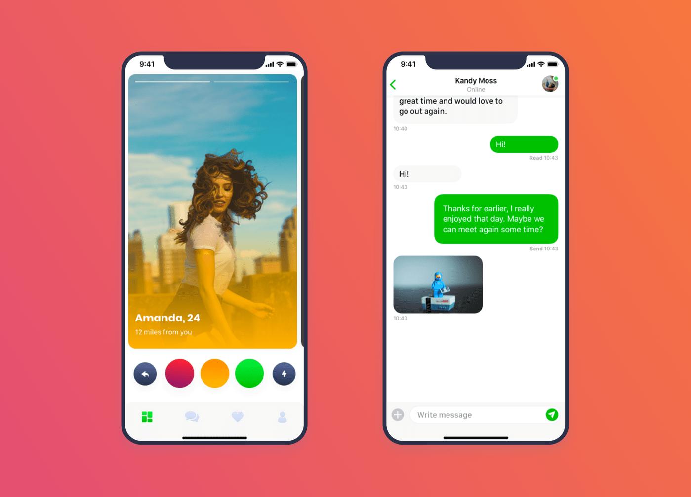 Greenligh Dating app