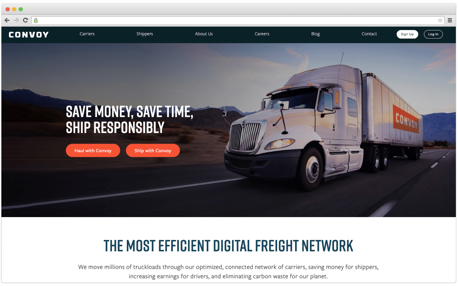 Best Uber for trucking apps: Convoy