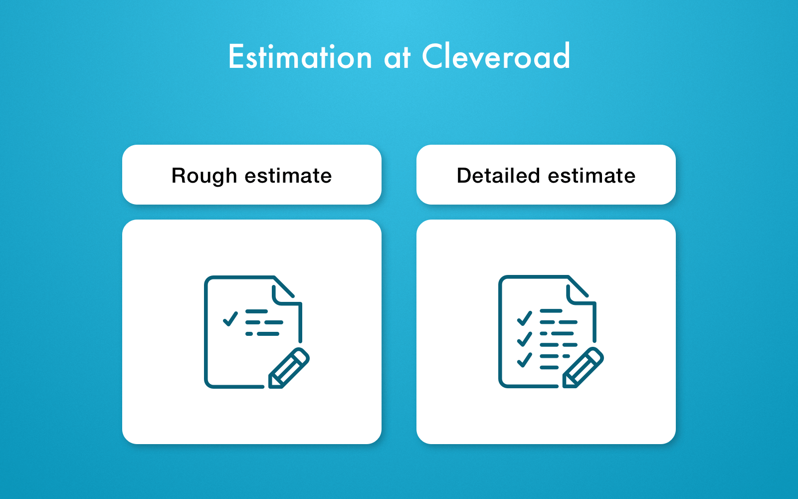 Software Development Estimation at Cleveroad