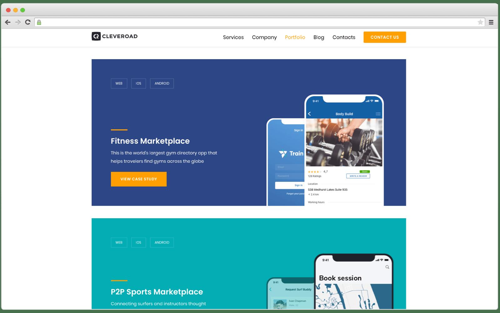 Software vendor's portfolio