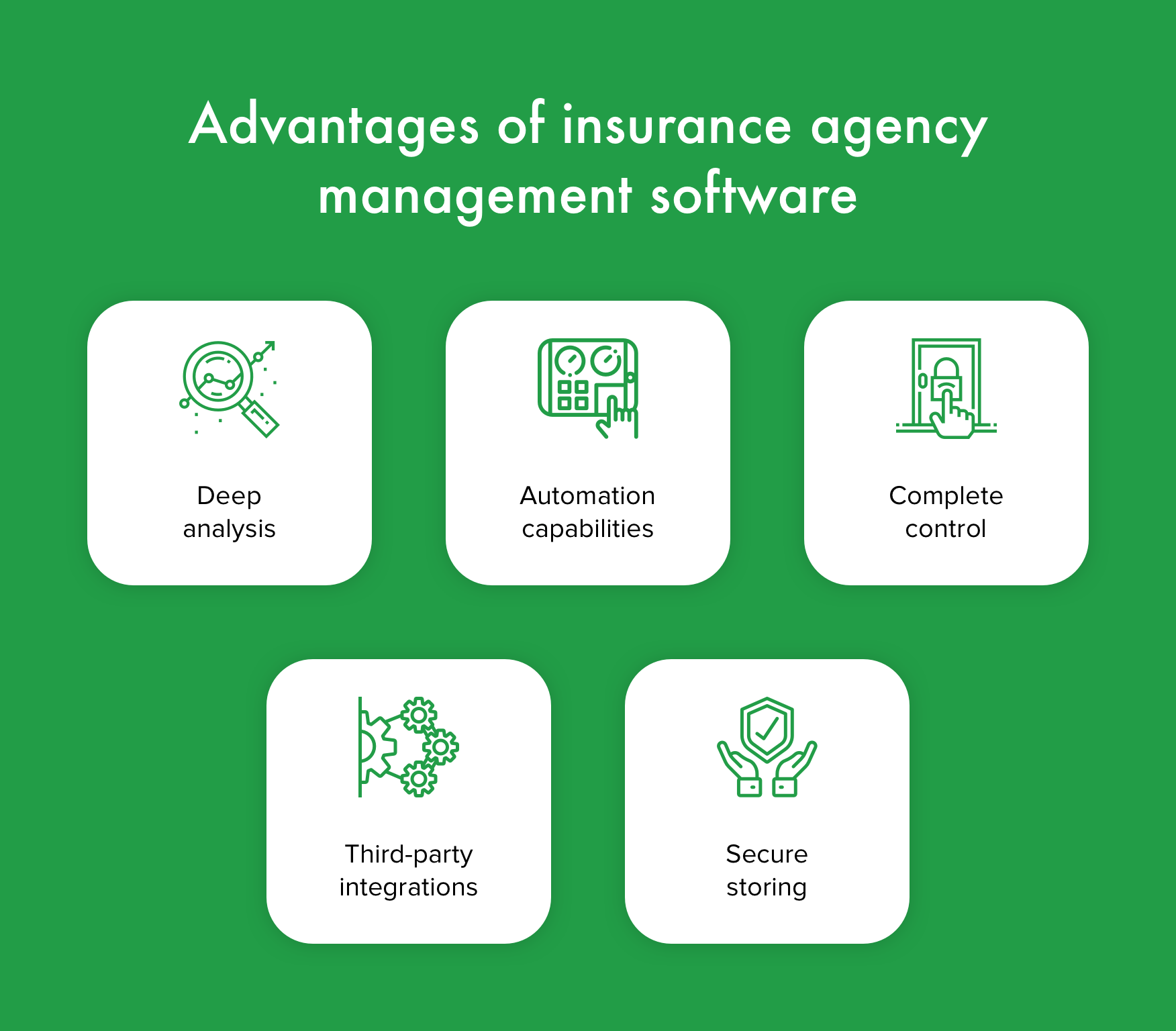 Advantages of insurance agency management software