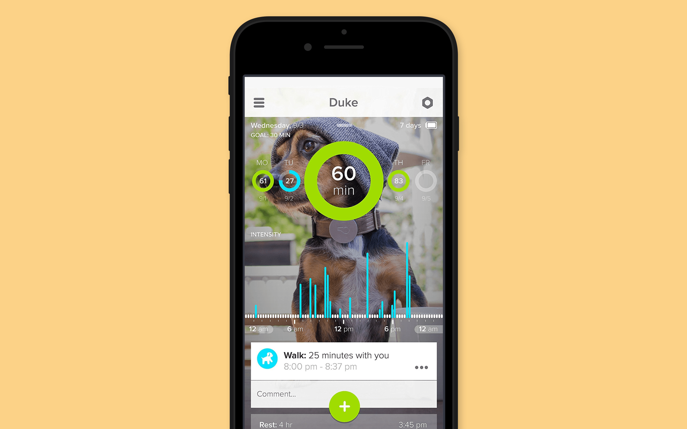 dog walk app android