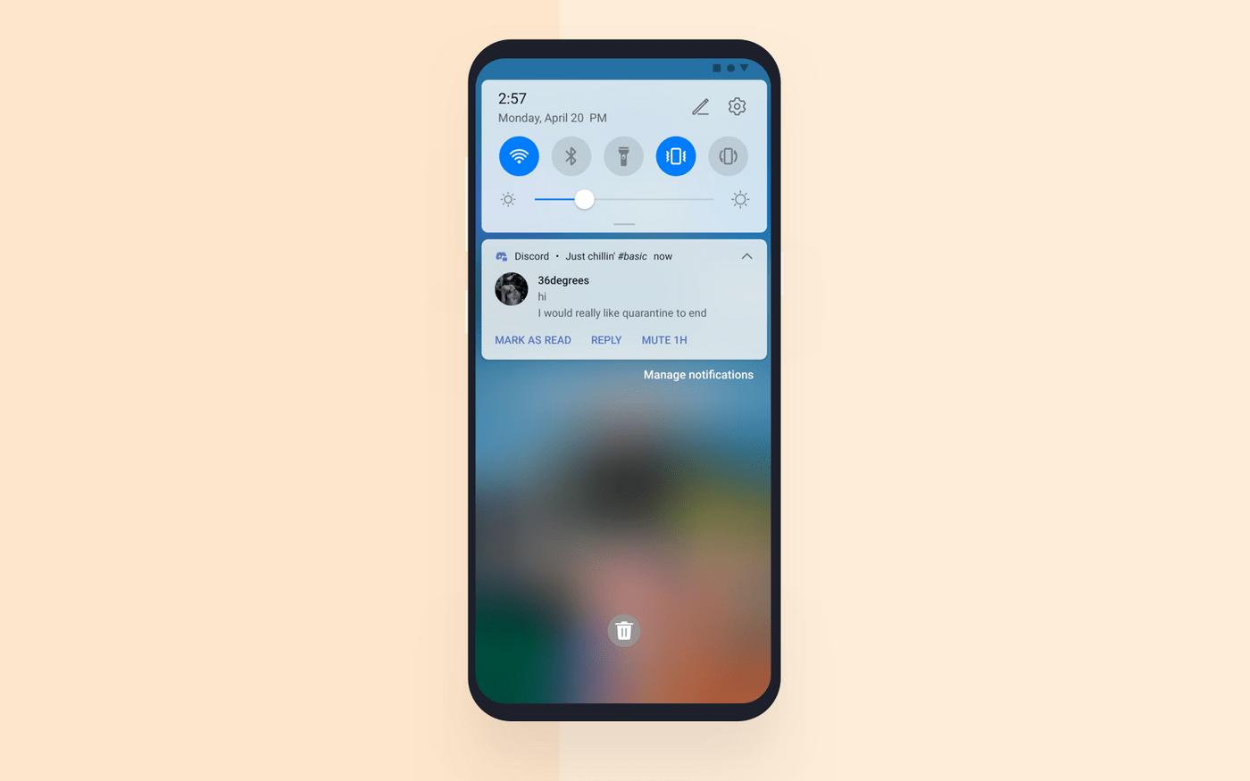 Video chat app development: push notifications