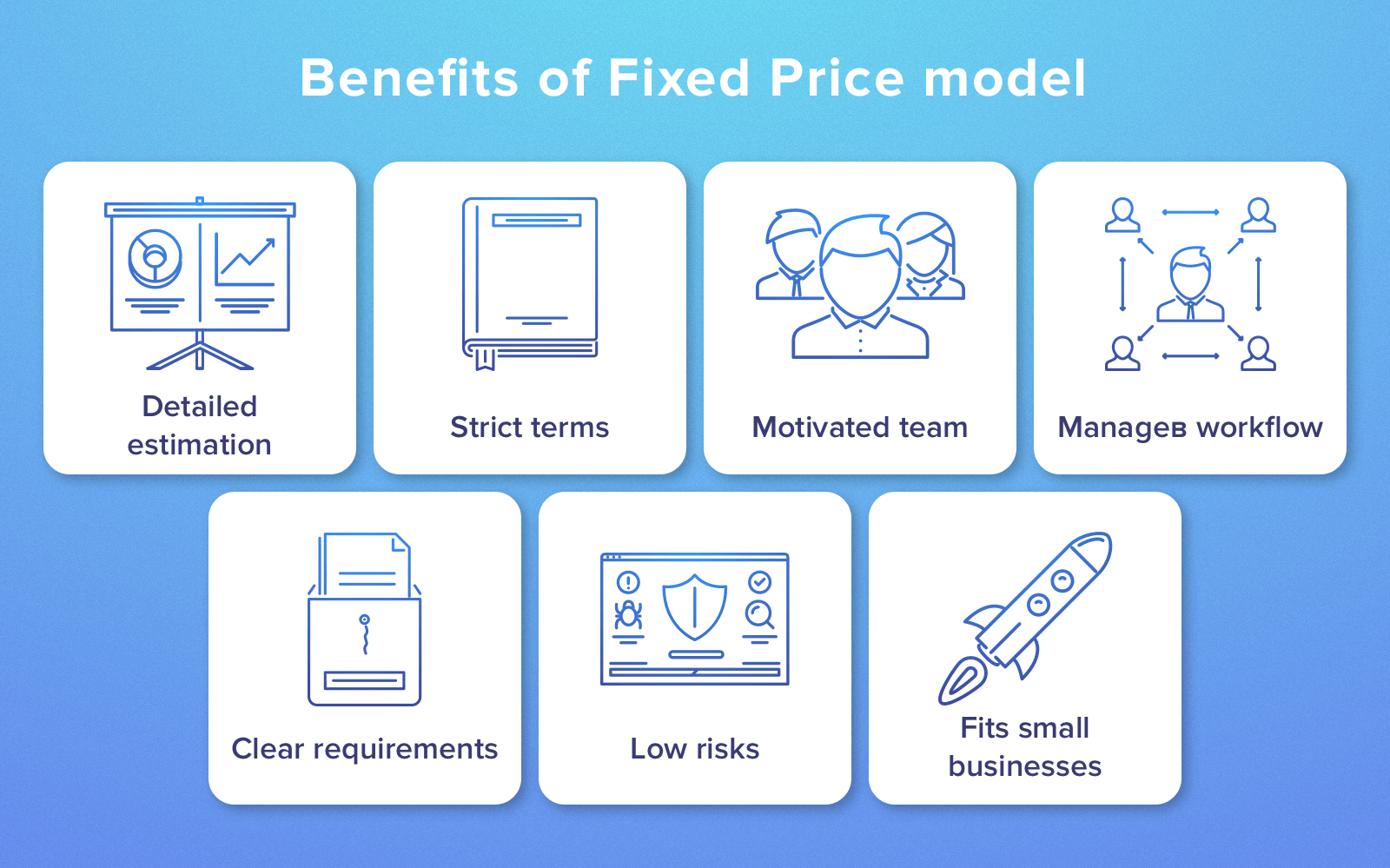 pros and cons of fixed price contracts