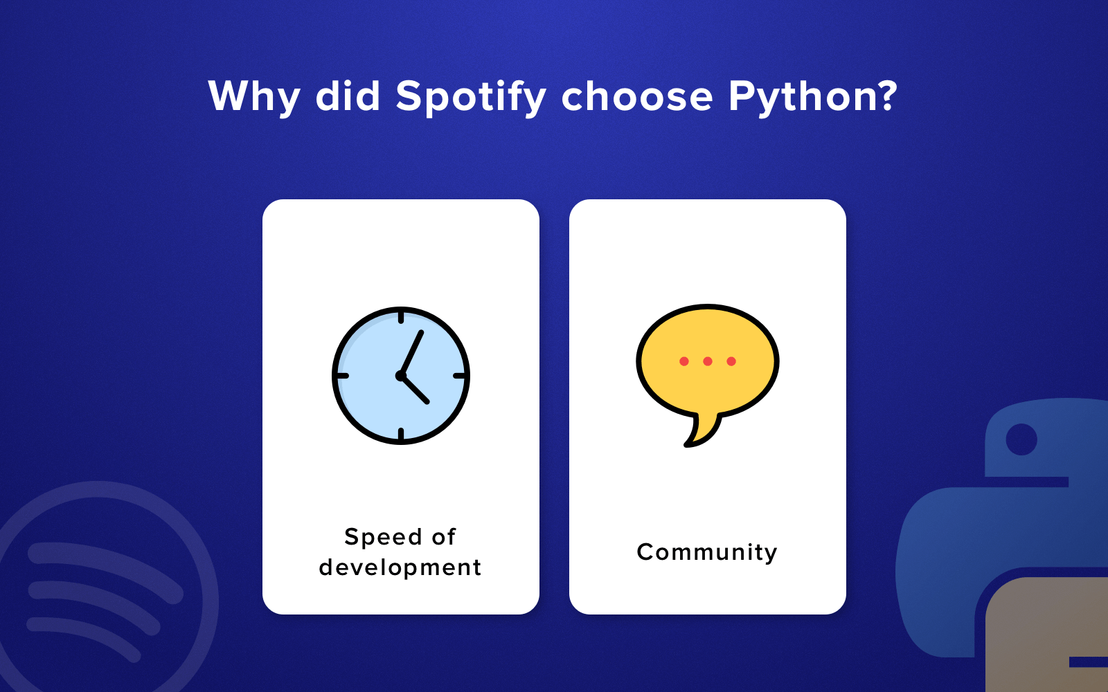 Advantages of Python: Why did Spotify choose it