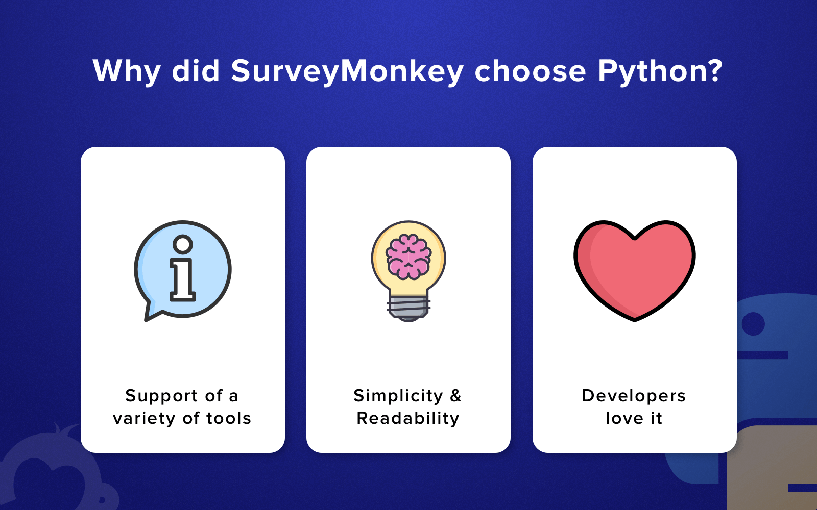 Advantages of Python: Why did SurveyMonkey choose it