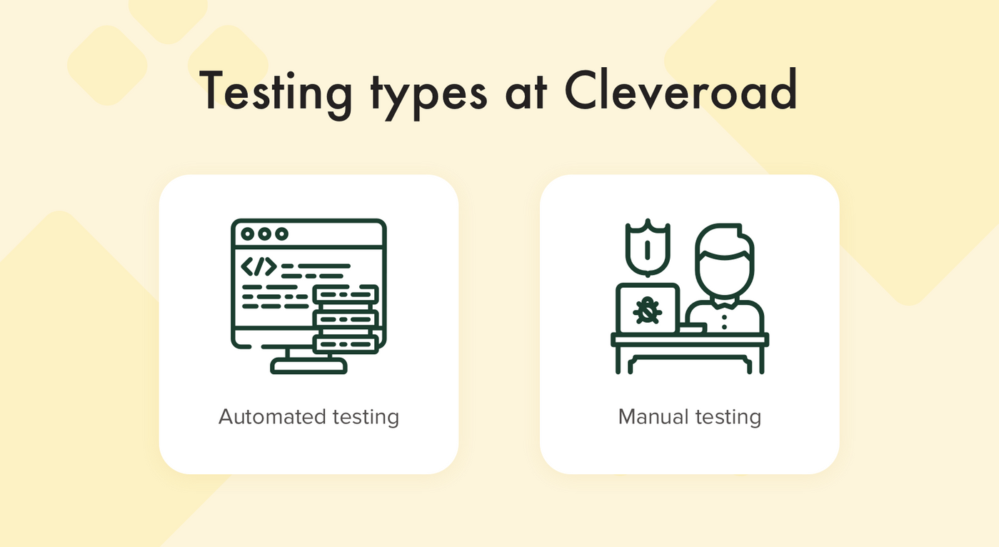 Tests at Cleveroad