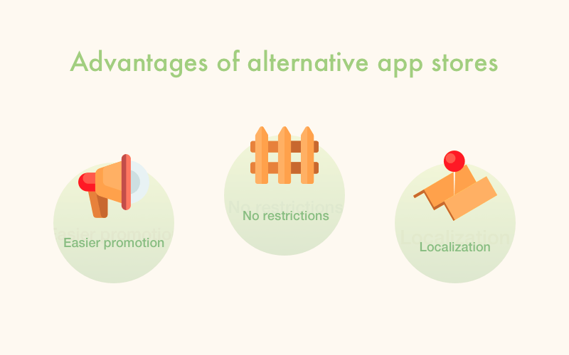 Alternative app store: pros and cons