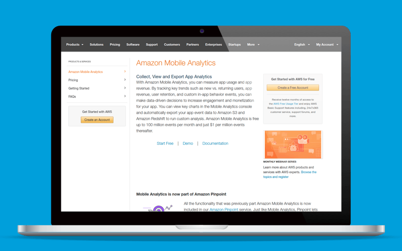 amazon app analytics platform