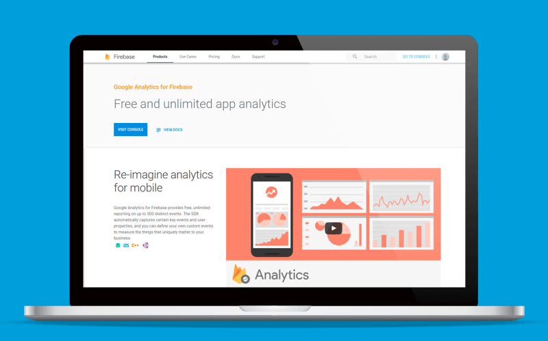 Firebase mobile analytics
