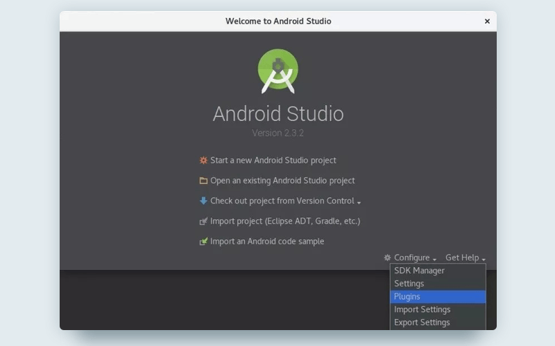 Android Studio with Kotlin: Install plugin