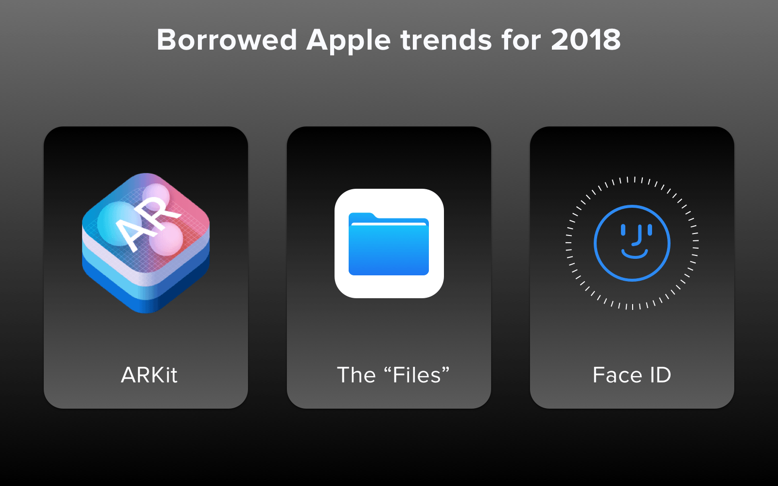 ios app design trends