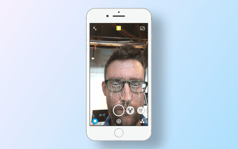 Apps that use machine learning: face vision