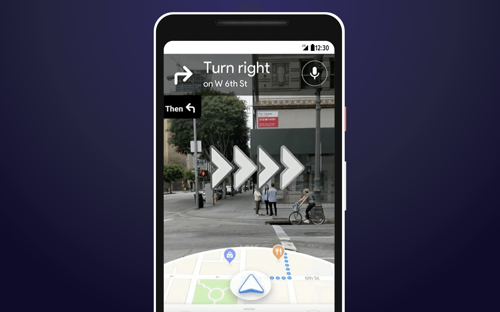 AR navigation Google Maps