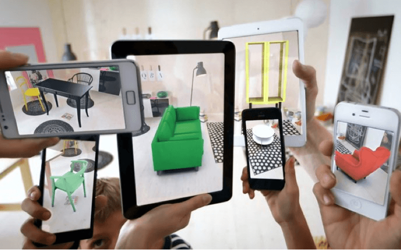 Augmented reality for retail business