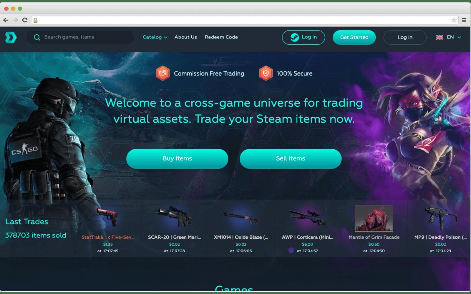 Blockchain in Gaming: DMarket