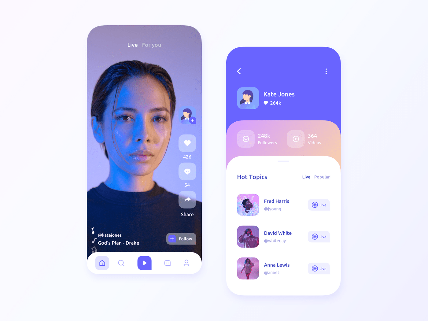How to create a music streaming app: design