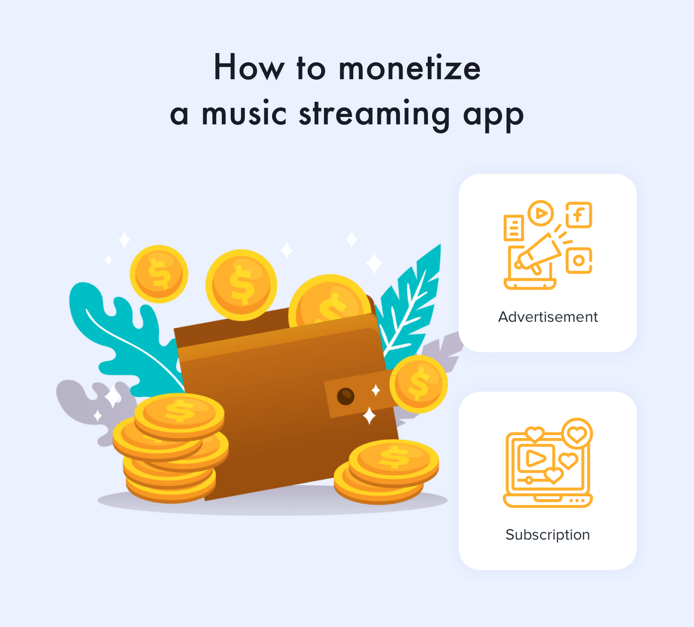 How to monetize a music streaming app