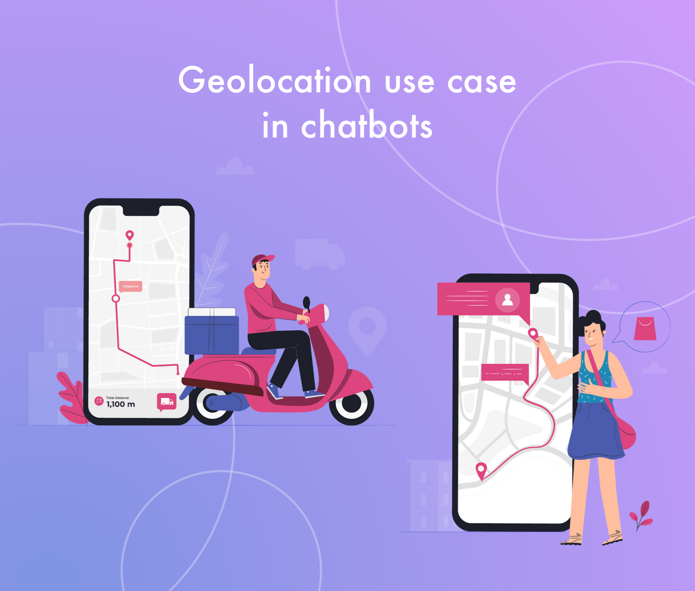 How to add geolocation in chatbots