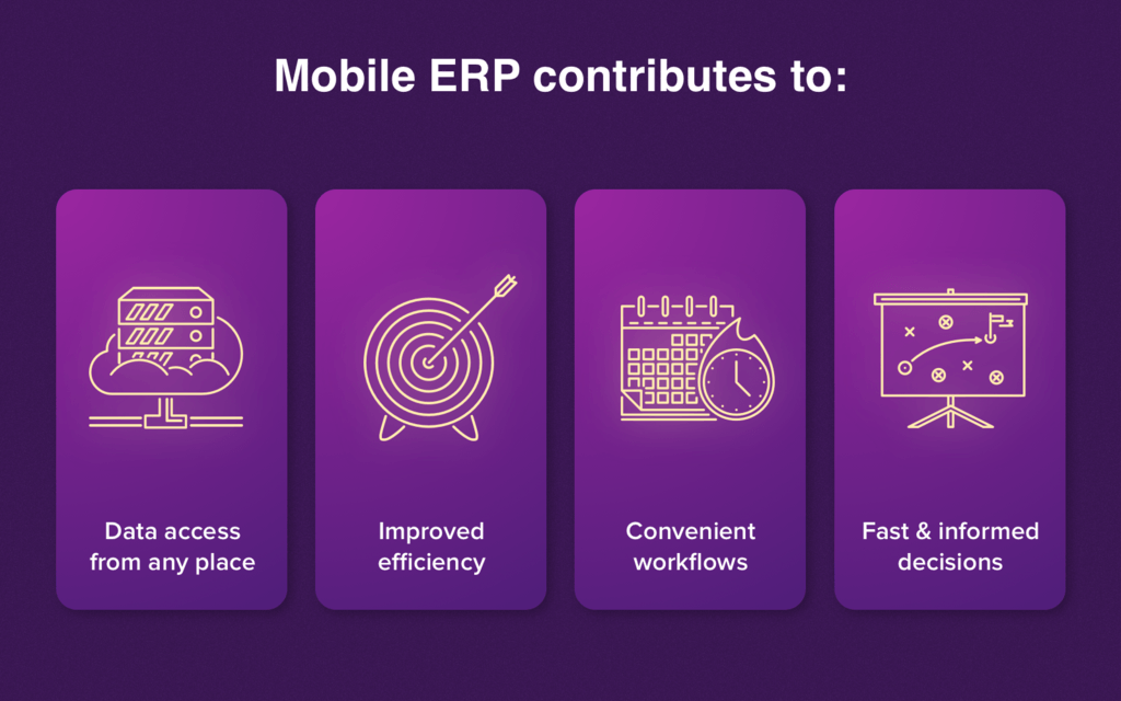 The main benefits of mobile ERP for companies
