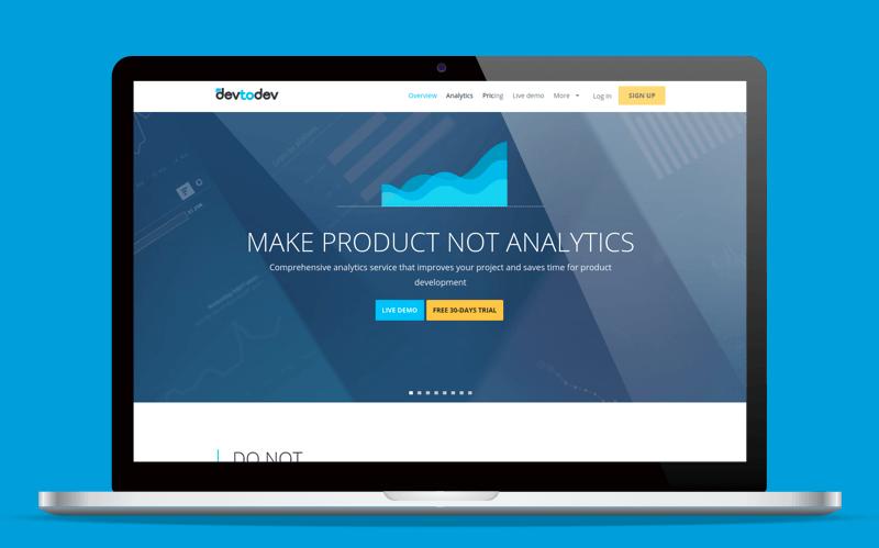 App analytics tools devtodev