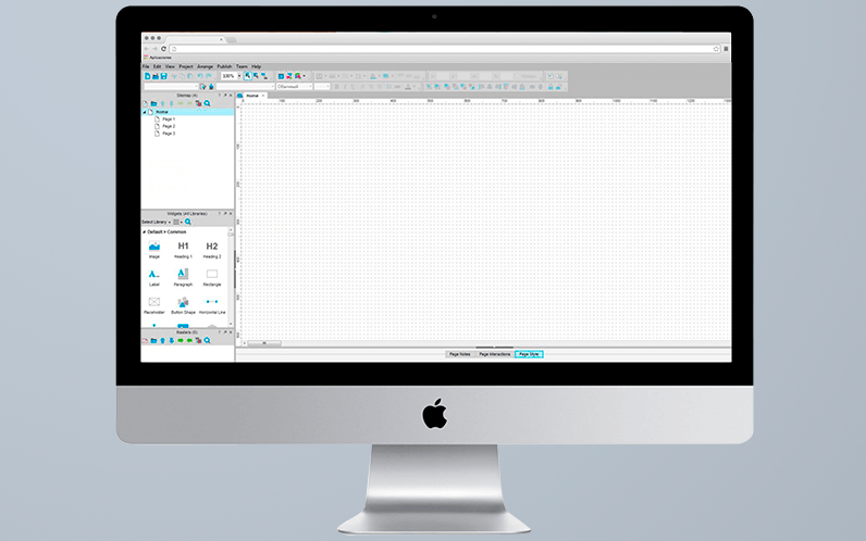Top prototyping tools: Axure