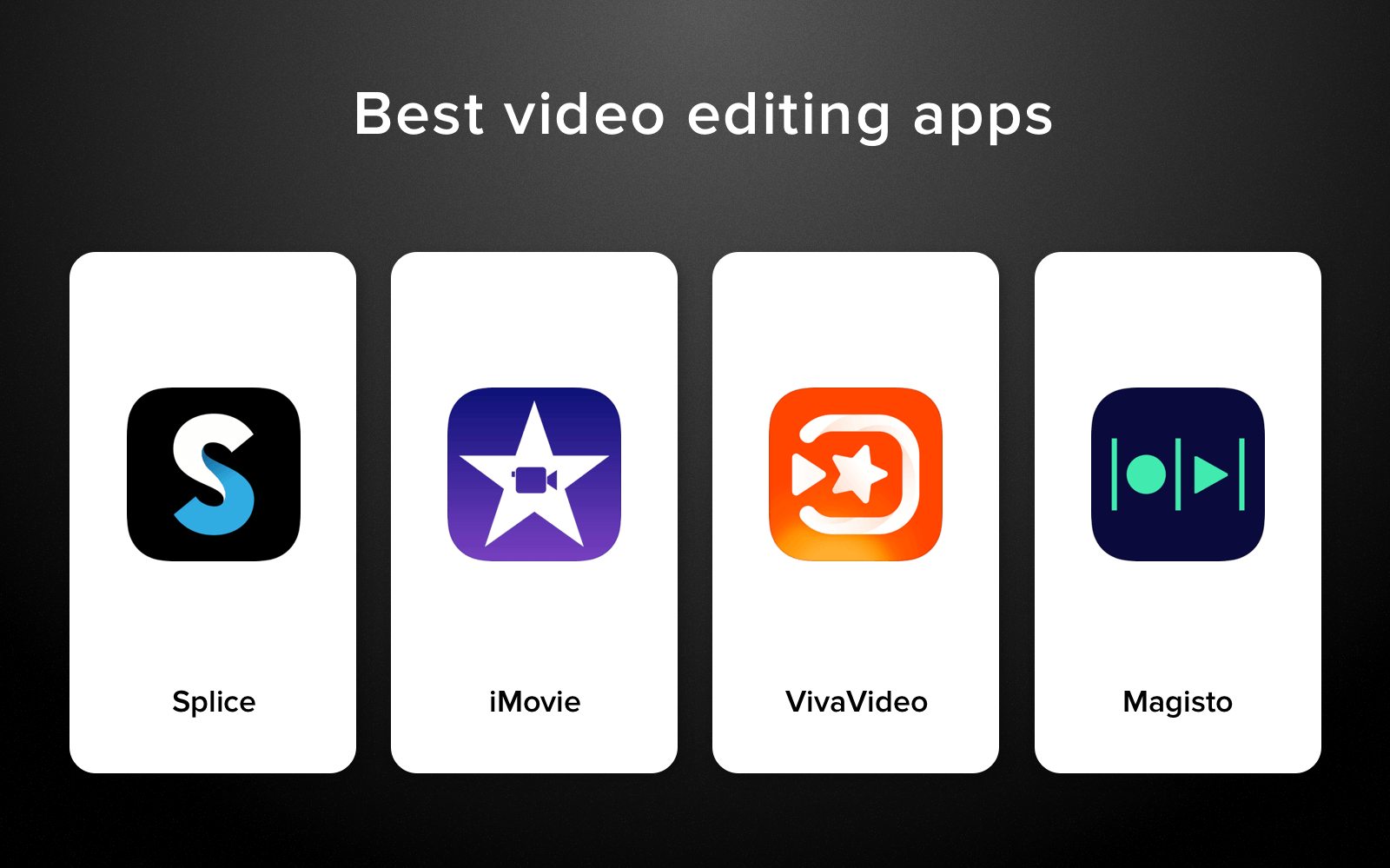 what is the best video editing app