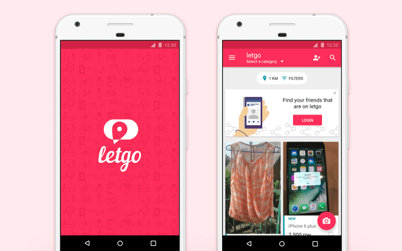 build app like letgo