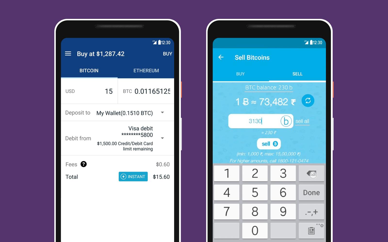 create bitcoin key pair