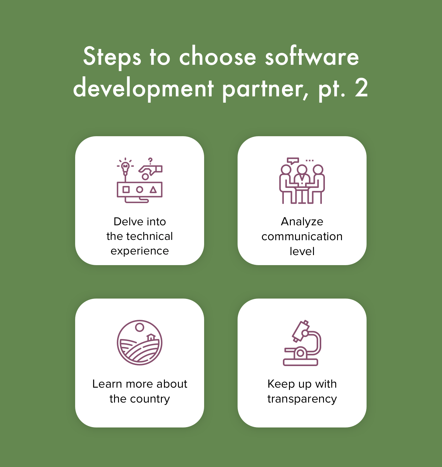 software development partnership