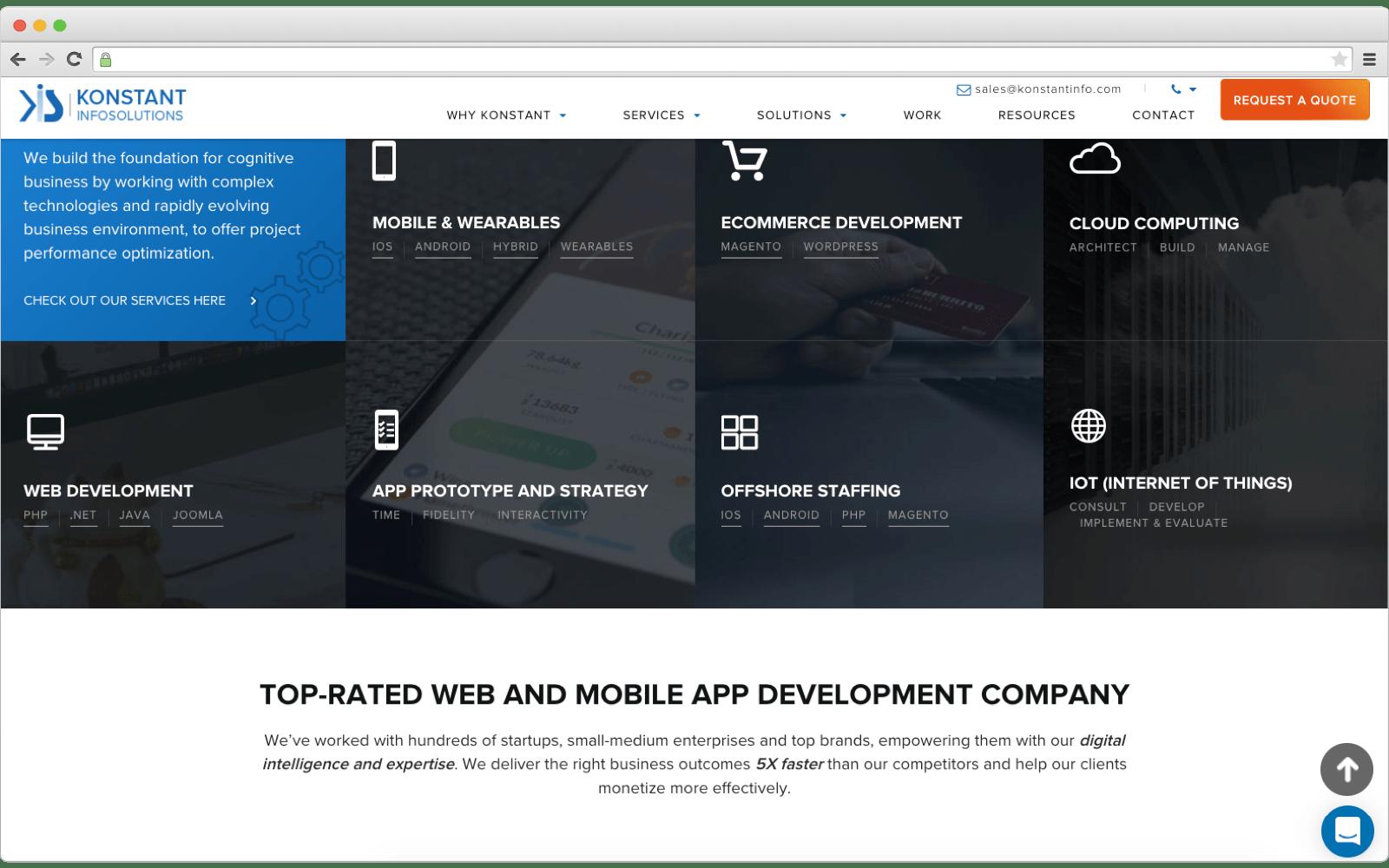 Ecommerce development company -- Konstant Infosolutions