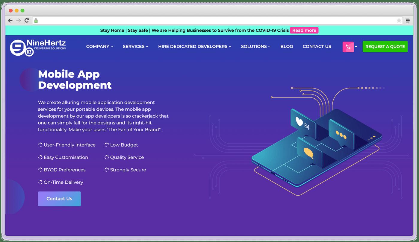 Elearning App Development Company: NineHertz