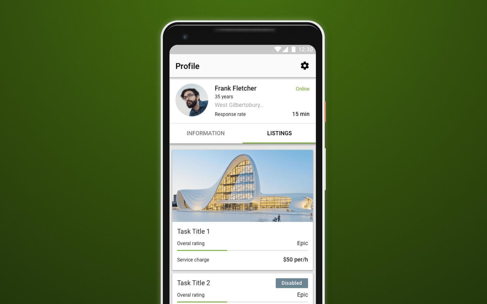 AYIO app listing
