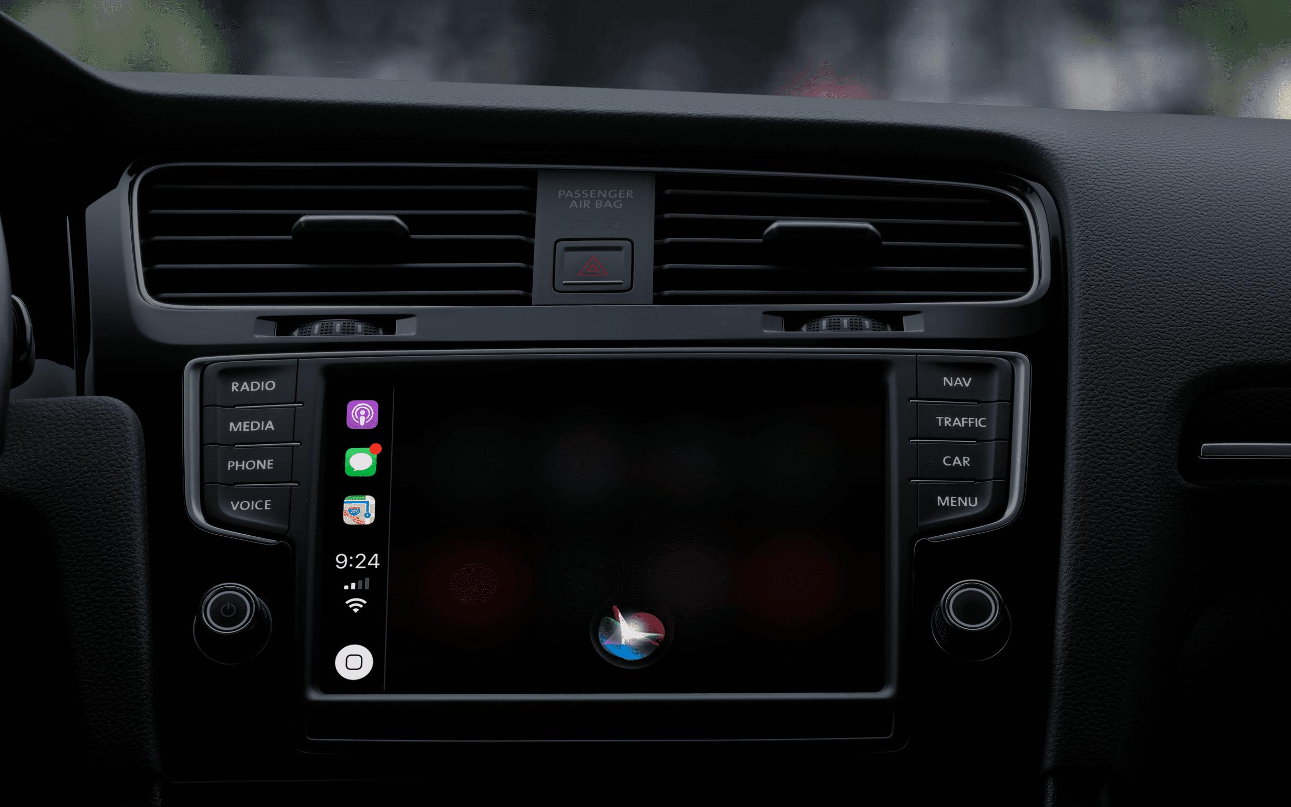 Siri on Apple CarPlay