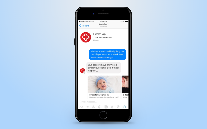 Chatbot communicates like a human
