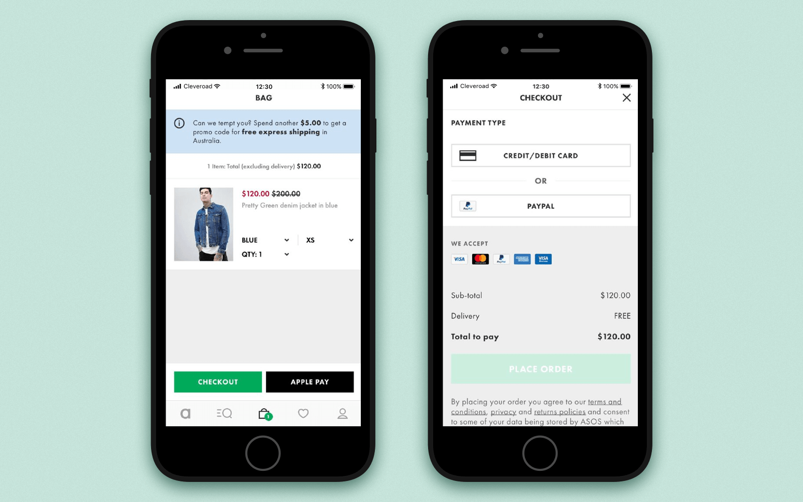 Make an app for your online store with the support of multiple payment methods and easy checkout