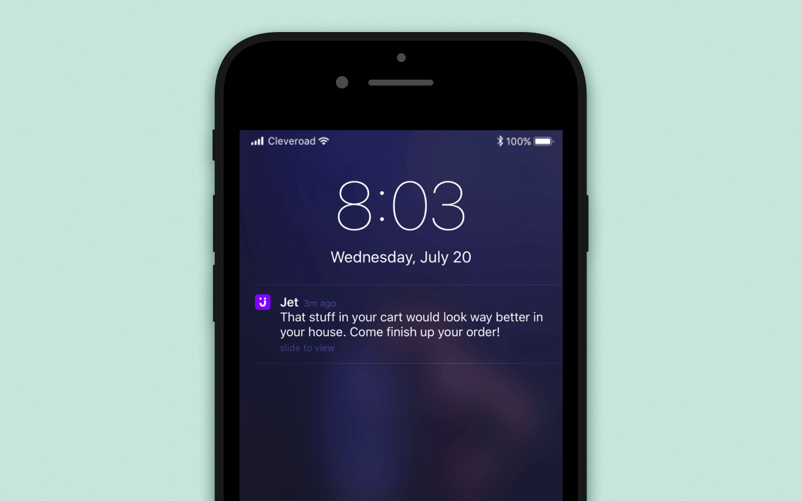 Build a shopping app with customization and flexible push notifications meeting your business objectives