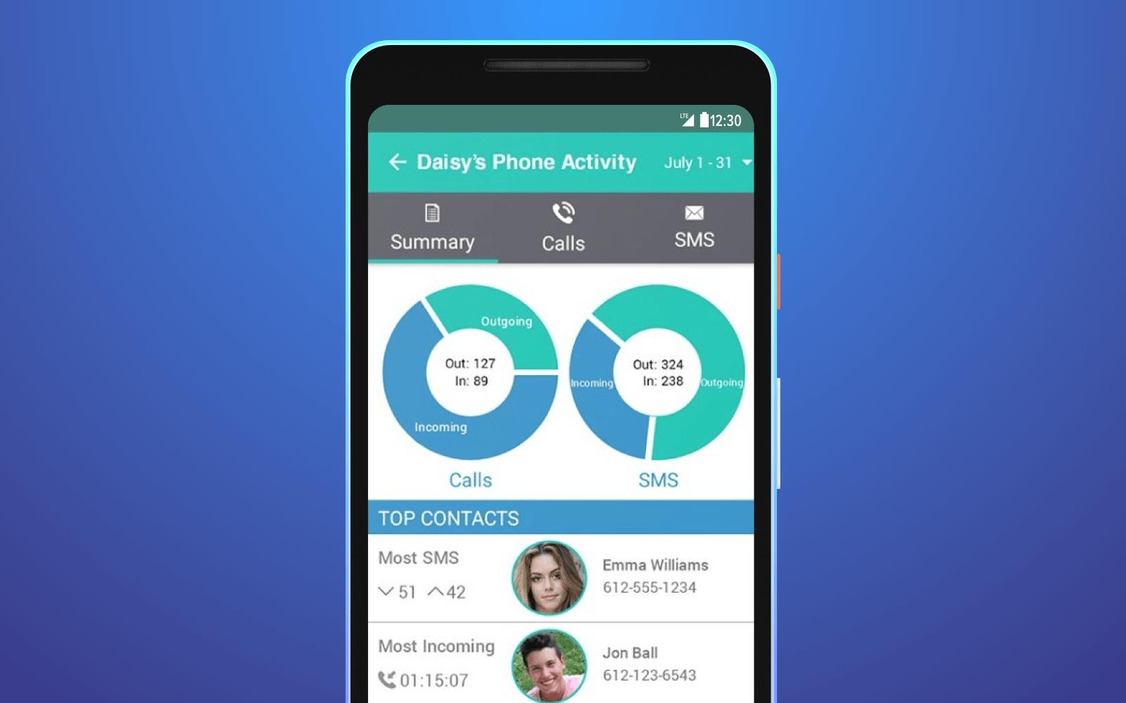 best app for tracking children's phone