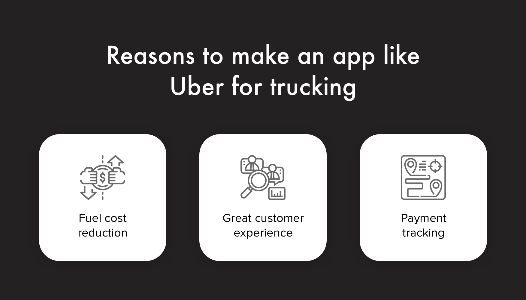 Reasons to make an app like Uber for trucking