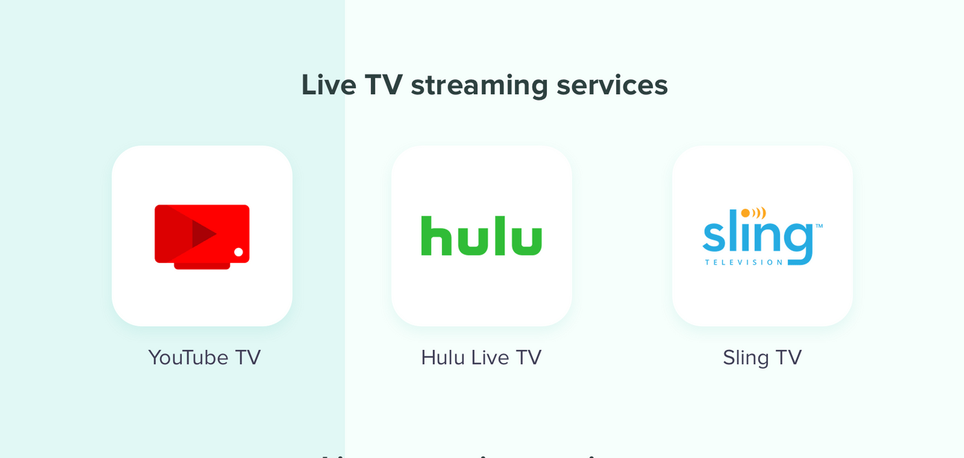 Make a live streaming services: Types of streaming platforms