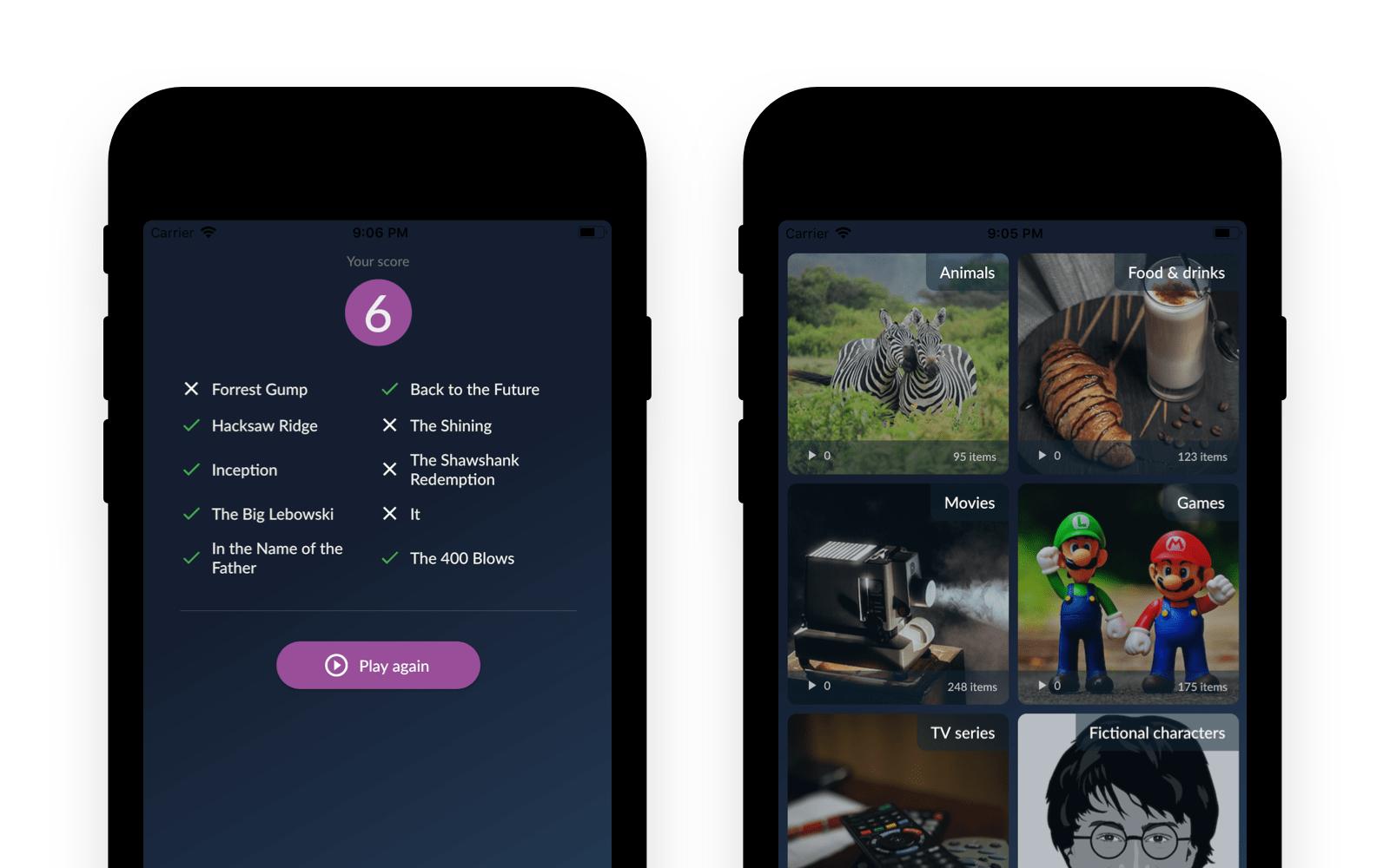 Zgadula app