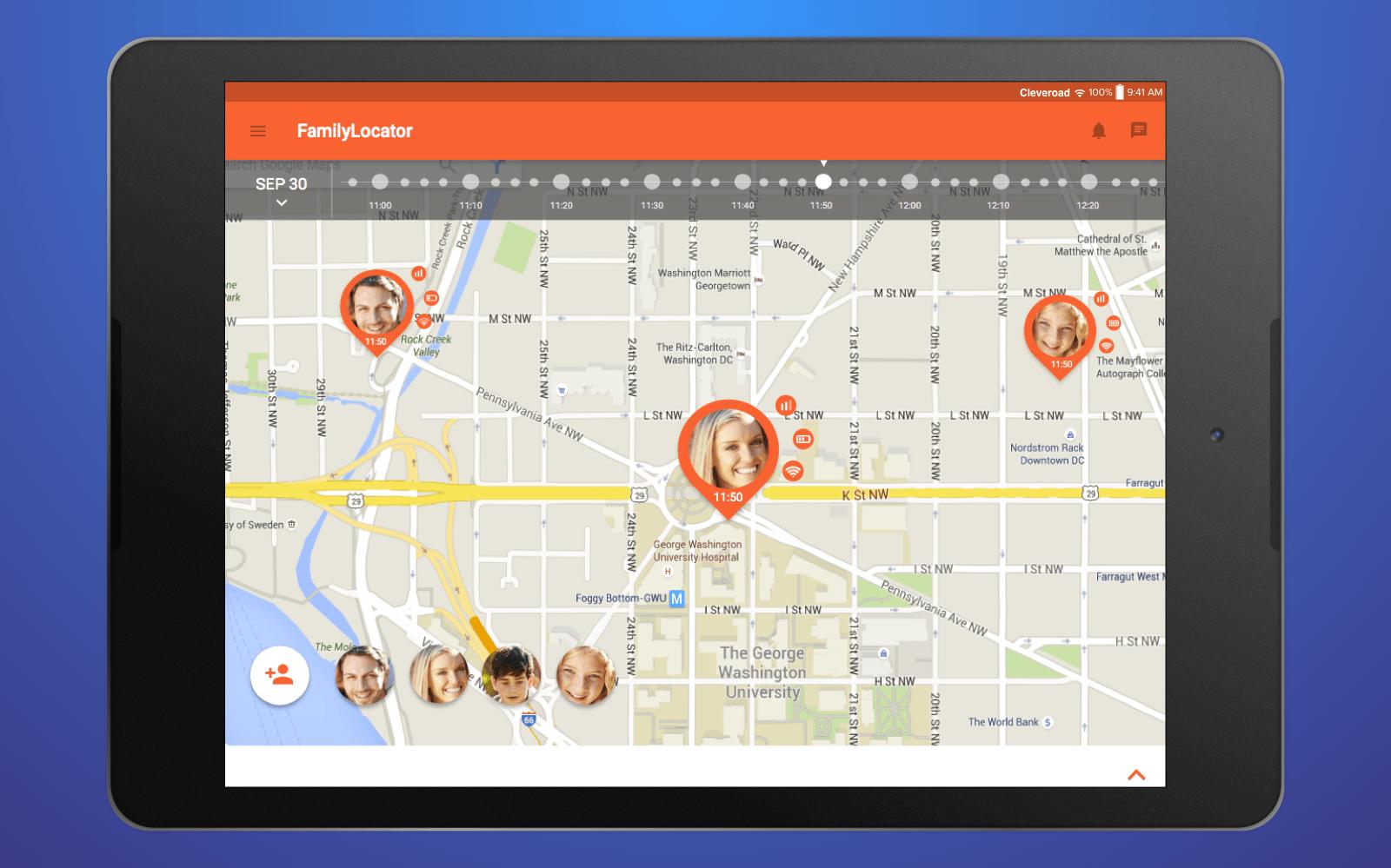family map app
