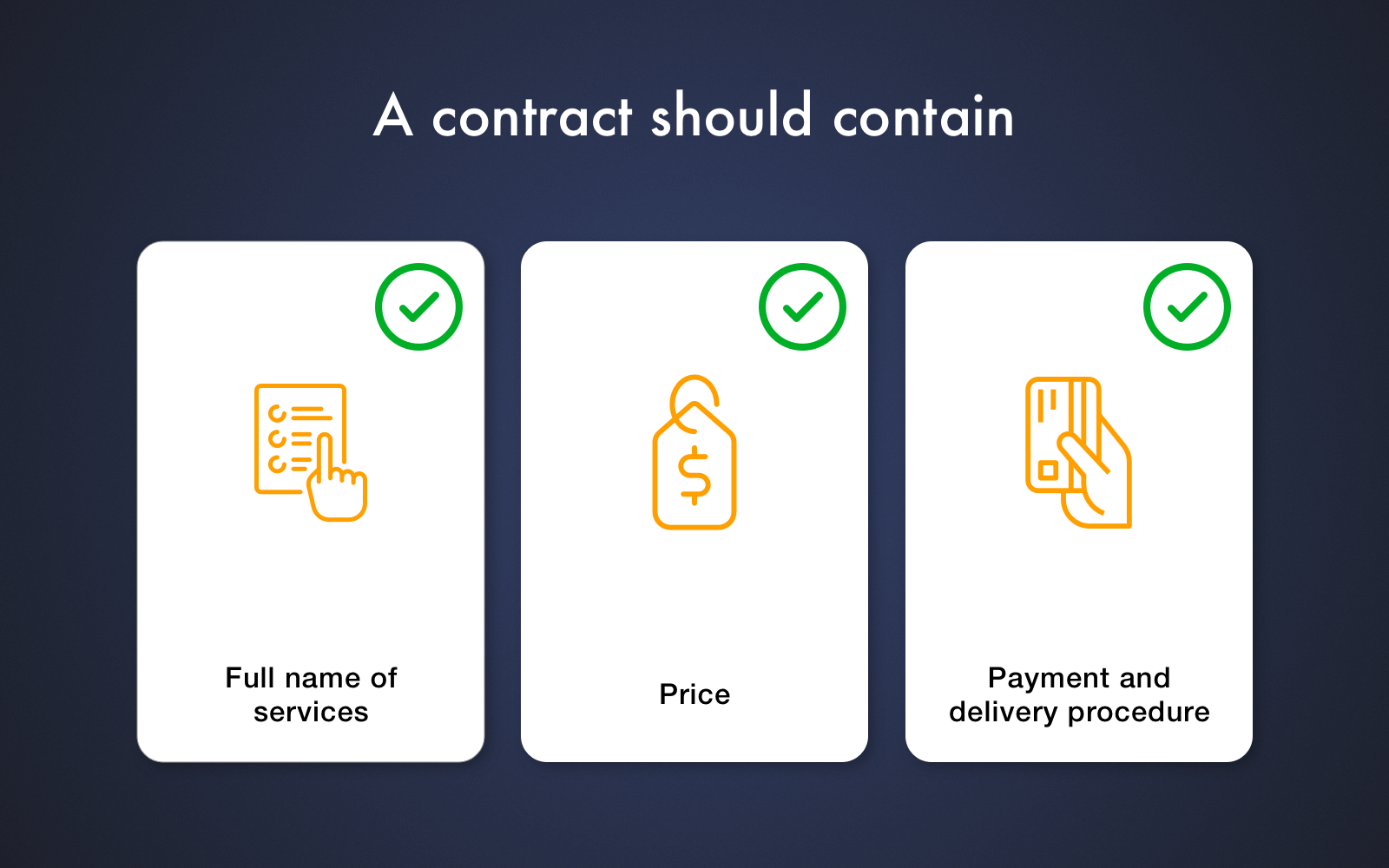 Provisions you should include to the contract when cooperating with Ukrainian IT companies