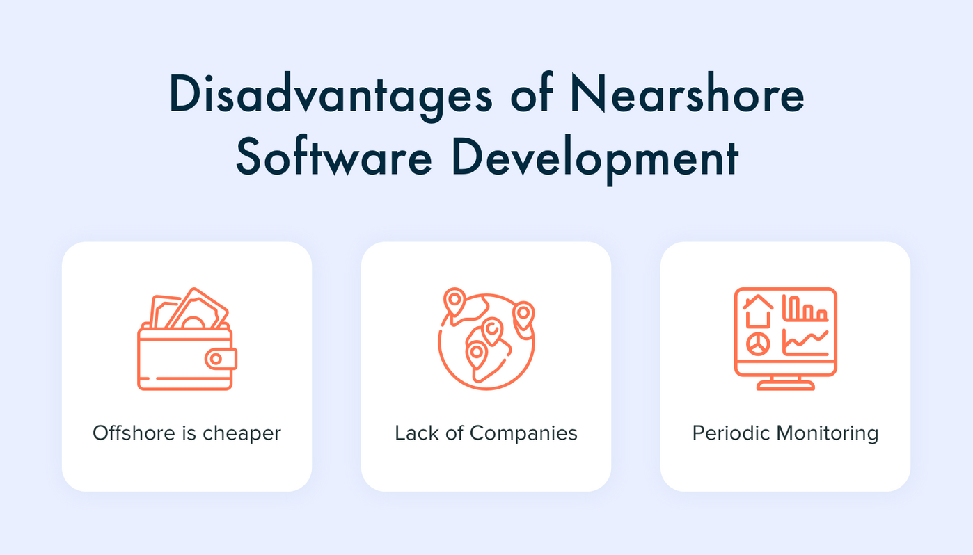 Cons of Nearshore Software Outsourcing